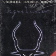 Jogos Antigos: AQUELARRE APOCRIFO - JUEGO DE ROL DEMONIACO MEDIEVAL - IMPECABLE PRECINTADO - SUB02M. Lote 276001158