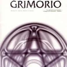 Giochi Antichi: GRIMORIO SUPLEMENTO PARA AQUELARRE EL JUEGO DE ROL DEMONIACO MEDIEVAL - MUY BUEN ESTADO - SUB02M. Lote 276162963