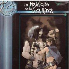 Juegos Antiguos: LA MALDICION DE LA GALLINA (UN SUPLEMENTO PARA BRIBONES) QUEPUNTOES - IMPECABLE PRECINTADO - SUB02M. Lote 276208303