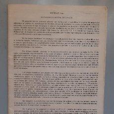 Juegos Antiguos: CATALOGO DE JUEGOS JOC PLAY, SOBRE 1980. Lote 276695818