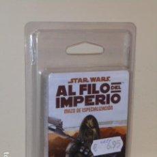 Juegos Antiguos: STAR WARS AL FILO DEL IMPERIO MAZO DE ESPECIALIZACION - PISTOLERO A SUELDO INCURSOR - ROL OFERTA. Lote 277144833