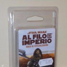 Juegos Antiguos: STAR WARS AL FILO DEL IMPERIO MAZO DE ESPECIALIZACION - PISTOLERO A SUELDO INCURSOR - ROL OFERTA. Lote 277144853