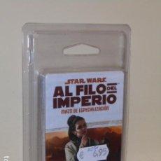 Juegos Antiguos: STAR WARS AL FILO DEL IMPERIO MAZO DE ESPECIALIZACION - PIONERO COMERCIANTE - ROL OFERTA. Lote 277146393
