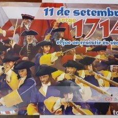 Juegos Antiguos: 11 DE SETEMBRE. SETGE 1714. WARGAME DE CAT IMPERIUM. Lote 277228188