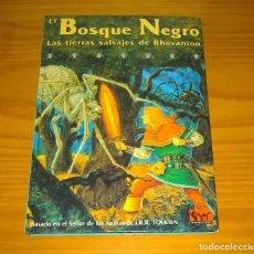Juegos Antiguos: EL BOSQUE NEGRO LAS TIERRAS SALVAJES DE RHOVANION SUPLEMENTO ROL EL SEÑOR DE LOS ANILLOS JOC 310. Lote 277041413