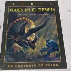 Juegos Antiguos: GURPS VIAJES EN EL TIEMPO LA FACTORIA DE IDEAS DIFICIL 1997 BUEN ESTADO. Lote 277264528