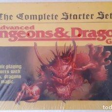 Juegos Antiguos: ADVANCED DUNGEONS & DRAGONS: THE COMPLETE STARTER SET - INGLES - PRECINTADO. Lote 277279613