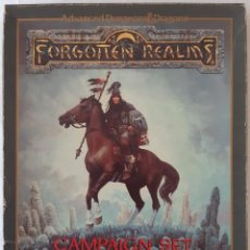 Juegos Antiguos: ADVANCED DUNGEONS & DRAGONS - FORGOTTEN REALMS: CAMPAIGN SET - INGLES. Lote 277284373