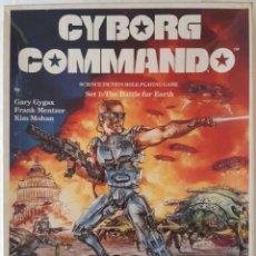 Juegos Antiguos: CYBORG COMMANDO - SET 1: THE BATTLE FOR EARTH - GARY GYGAX. Lote 277286573