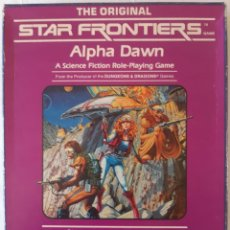 Juegos Antiguos: STAR FRONTIERS: ALPHA DAWN - TSR - INGLES. Lote 277287158