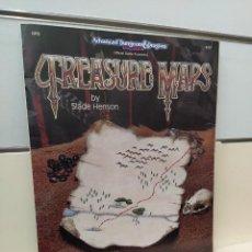 Juegos Antiguos: TREASURE MAPS ADVANCED DUNGEONS & DRAGONS 2ND EDITION EN INGLES - TSR. Lote 277571838