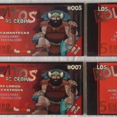 Juegos Antiguos: LOS RELATOS DE CROM: Nº 4, 5, 6, 7, 8 - AQUELARRE: LA TENTACIÓN. Lote 277588938