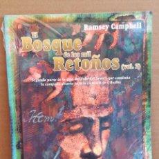 Juegos Antiguos: LIBRO DE ROL EL BOSQUE DE LOS MIL RETOÑOS - LA LLAMADA DE CTHULHU - PRECINTADO. Lote 277652343