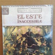 Juegos Antiguos: LIBRO DE ROL EL ESTE INACCESIBLE - REINOS OLVIDADOS DUNGEONS & DRAGONS - PRECINTADO. Lote 277652688