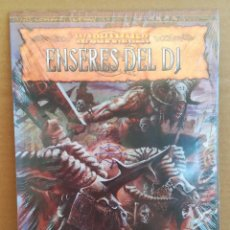 Juegos Antiguos: LIBRO DE ROL WARHAMMER ENSERES DEL DJ - PRECINTADO. Lote 277653263
