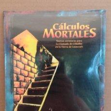 Juegos Antiguos: LIBRO DE ROL LLAMADA DE CTHULHU - CÁLCULOS MORTALES - PRECINTADO. Lote 277653808