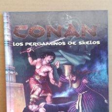 Juegos Antiguos: LIBRO DE ROL CONAN CONAN LOS PERGAMINOS DE SKELOS. Lote 277653993