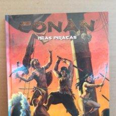 Juegos Antiguos: LIBRO DE ROL CONAN LAS ISLAS PIRATAS. Lote 277654128