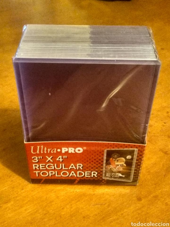 """FUNDAS RÍGIDAS PARA CARDS CAJA DE 25 UDS - ULTRA PRO TOPLOADER 3""""X 4"""" REGULAR . (Juguetes - Rol y Estrategia - Otros)"""