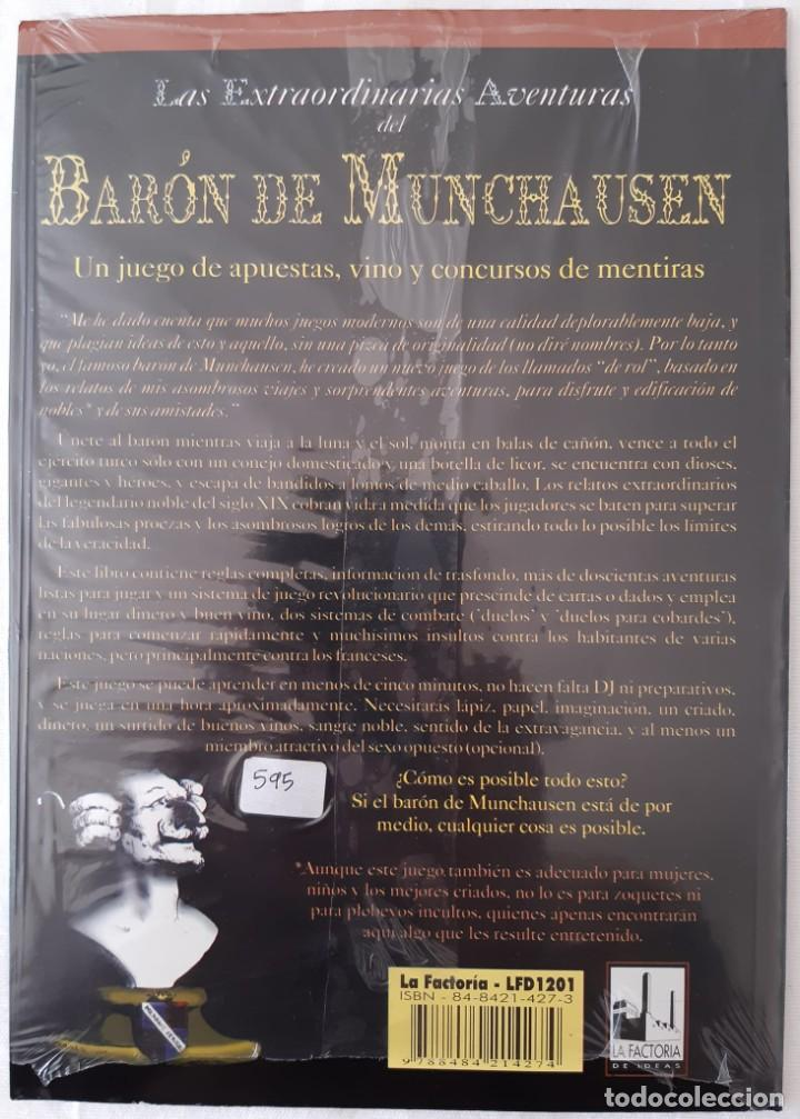 Juegos Antiguos: LAS EXTRAORDINARIAS AVENTURAS DEL BARON DE MUNCHAUSEN - Rol - PRECINTADO - Foto 2 - 277728008