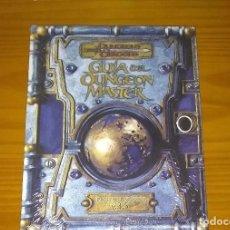 Juegos Antiguos: DUNGEONS AND DRAGONS GUÍA DEL DUNGEON MASTER LIBRO DE REGLAS BÁSICO II ROL D&D 3.5 DEVIR PRECINTADO. Lote 277735163