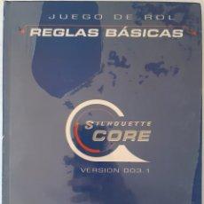 Juegos Antiguos: SILHOUETTE CORE: REGLAS BASICAS - ROL - EDGE - PRECINTADO. Lote 277735203