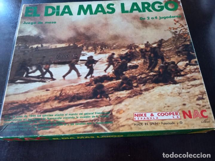 WARGAME NAC EL DÍA MÁS LARGO (Juguetes - Rol y Estrategia - Otros)