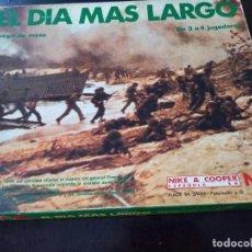Juegos Antiguos: WARGAME NAC EL DÍA MÁS LARGO. Lote 277764163