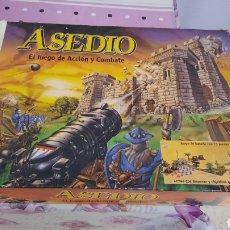 Juegos Antiguos: JUEGO DE MESA ASEDIO DE MB¿¿COMPLETO???. Lote 278598003