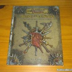 Juegos Antiguos: ARMAS DE LEYENDA D&D 3.5 SUPLEMENTO DE ROL DUNGEONS AND DRAGONS DEVIR PRECINTADO. Lote 278758593