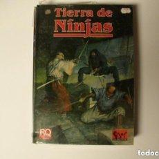 Juegos Antiguos: TIERRA DE NINJAS RUNEQUEST JUEGO DE ROL SUPLEMENTO JOC INTERNACIONAL PRECINTADO. Lote 278761223