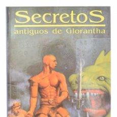 Juegos Antiguos: SECRETOS ANTIGUOS DE GLORANTHA RUNEQUEST JUEGO DE ROL SUPLEMENTO JOC INTERNACIONAL PRECINTADO. Lote 278761338