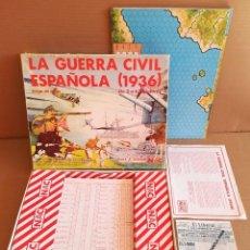 Jogos Antigos: JUEGO NAC LA GUERRA CIVIL ESPAÑOLA 1936. Lote 278832058