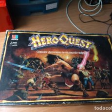 Jogos Antigos: HERO QUEST JUEGO DE MESA DE MB AÑO 1989 INCOMPLETO. Lote 278949203