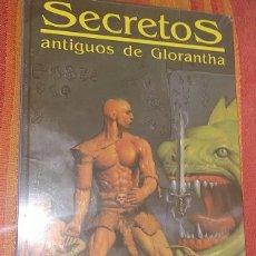 Juegos Antiguos: SECRETOS ANTIGUOS DE GLORANTHA RUNEQUEST JUEGO DE ROL SUPLEMENTO JOC INTERNACIONAL PRECINTADO. Lote 279383838