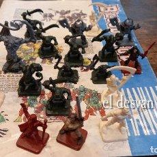 Juegos Antiguos: BLOOD BOWL. LOTE MANUAL Y VARIAS FIGURAS. VER FOTOS. Lote 279511873