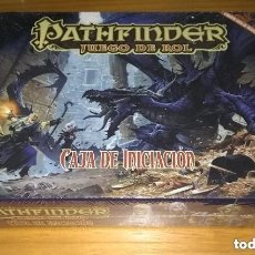 Juegos Antiguos: PATHFINDER CAJA DE INICIACIÓN D&D 3.5 ROL DUNGEONS AND DRAGONS DEVIR PRECINTADO. Lote 282197873