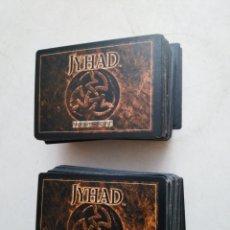 Giochi Antichi: LOTE DE 210 CARTAS JYHAD VAMPIRE ( EXCELENTE ESTADO ). Lote 283303863