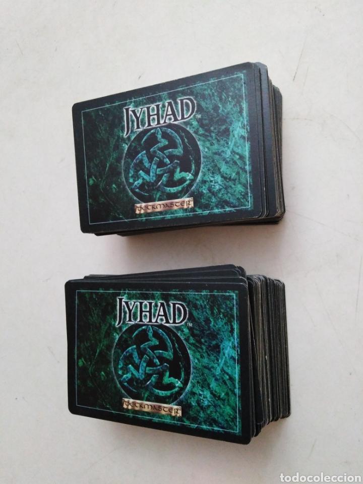 LOTE DE 211 CARTAS JYHAD VAMPIRE ( EXCELENTE ESTADO ) (Juguetes - Rol y Estrategia - Otros)