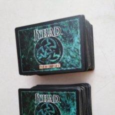 Giochi Antichi: LOTE DE 212 CARTAS JYHAD VAMPIRE ( EXCELENTE ESTADO ). Lote 283310298