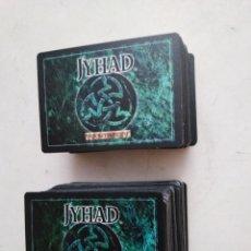 Giochi Antichi: LOTE DE 214 CARTAS JYHAD VAMPIRE ( EXCELENTE ESTADO ). Lote 283316303