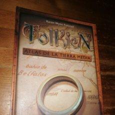 Juegos Antiguos: TOLKIEN. ATLAS DE LA TIERRA MEDIA - KAREN WYNN FONSTAD - TIMUN MAS, 2002. EL SEÑOR DE LOS ANILLOS.. Lote 283450448
