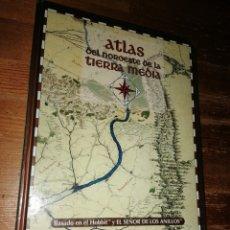 Juegos Antiguos: ATLAS DEL NOROESTE DE LA TIERRA MEDIA - EL SEÑOR DE LOS ANILLOS. Lote 283451483