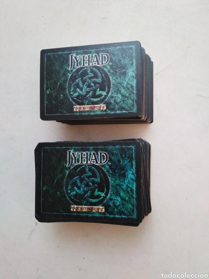 LOTE DE 216 CARTAS JYHAD VAMPIRE ( EXCELENTE ESTADO ) (Juguetes - Rol y Estrategia - Otros)