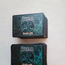 Giochi Antichi: LOTE DE 216 CARTAS JYHAD VAMPIRE ( EXCELENTE ESTADO ). Lote 283482573