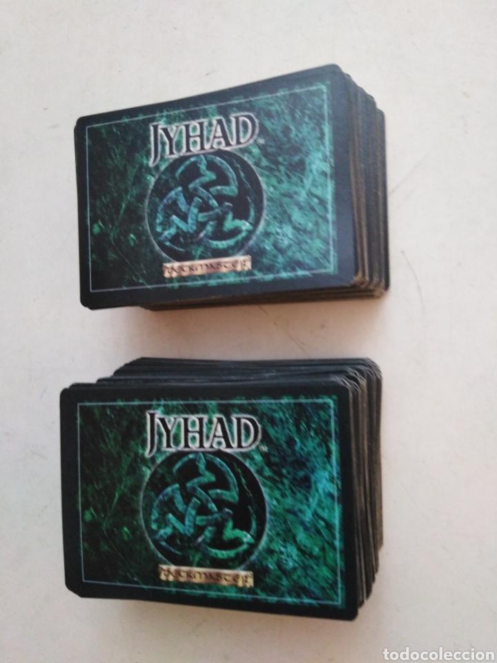 LOTE DE 217 CARTAS JYHAD VAMPIRE ( EXCELENTE ESTADO ) (Juguetes - Rol y Estrategia - Otros)