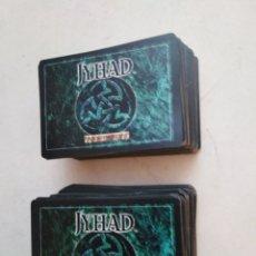 Giochi Antichi: LOTE DE 217 CARTAS JYHAD VAMPIRE ( EXCELENTE ESTADO ). Lote 283484613