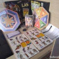 Juegos Antiguos: JUEGO DE ESTRATEGIA Y ROLL LAS 7 PUERTAS. COMPLETO. Lote 284361163