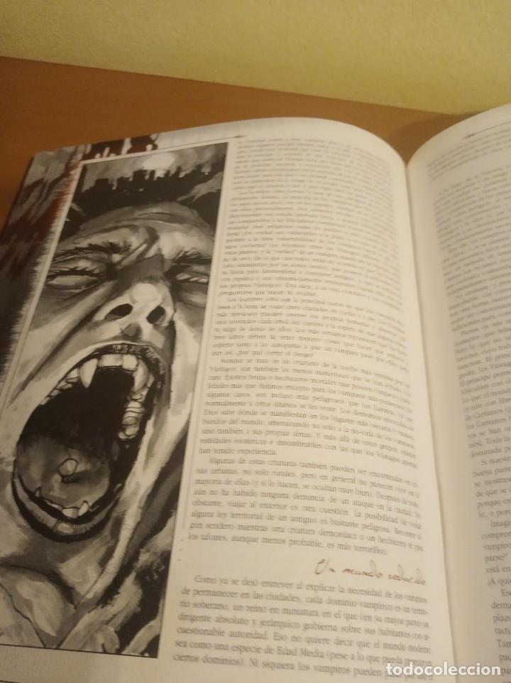 Juegos Antiguos: Vampiro- El Requiem- Libro de rol más pantalla del narrador. En perfecto estado - Foto 7 - 284590503