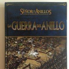 Juegos Antiguos: LA GUERRA DEL ANILLO. BATALLAS MASIVAS EN LA TIERRA MEDIA. SEÑOR DE LOS ANILLOS. GAMES WORKSHOP. Lote 286002743